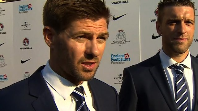 England captain Steven Gerrard ahead of World Cup Brazil 2014