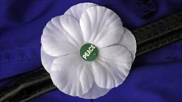 A peace flower