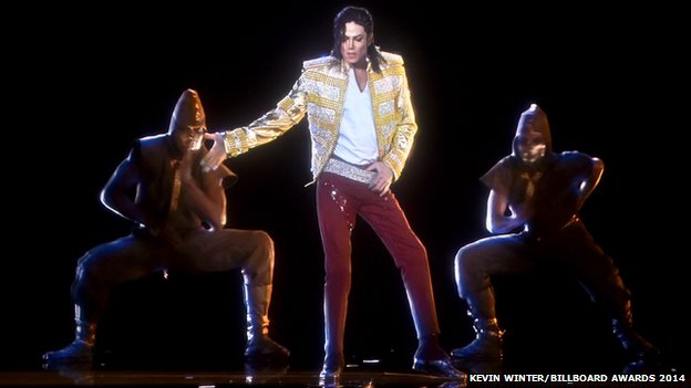 Michael Jackson hologram at Billboard Music Awards