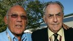 Sir Stirling Moss and Sir Jack Brabham