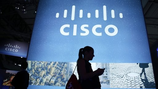 Cisco stand at Mobile World Congress