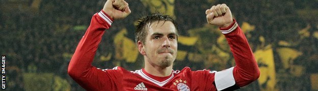 Bayern Munich captain Philipp Lahm