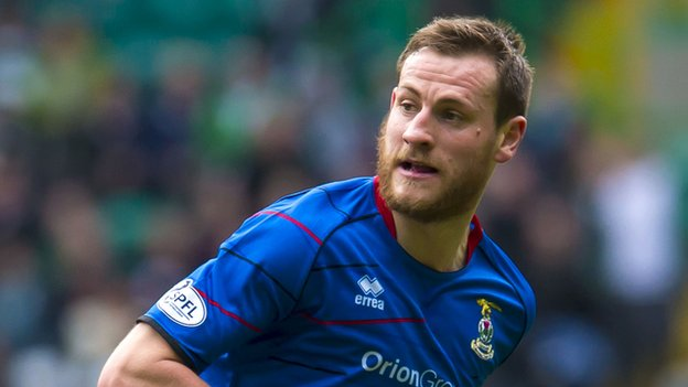 Inverness CT defender Gary Warren