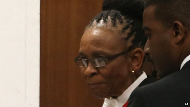 Judge Thokosile Masipa in court