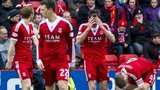Aberdeen lost second place on the Scottish Premiership's final day