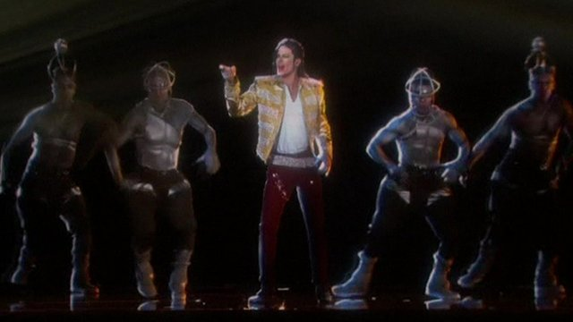 Michael Jackson hologram at US Billboard awards show