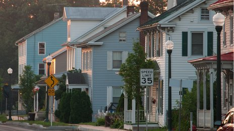 US townscape
