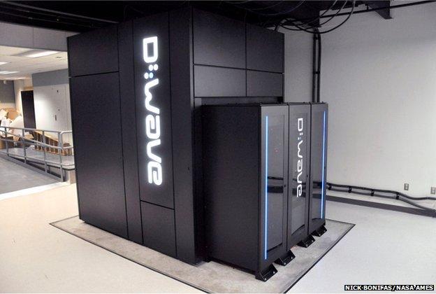 512-qubit D-wave quantum computer