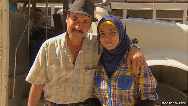 Khaled and Rania