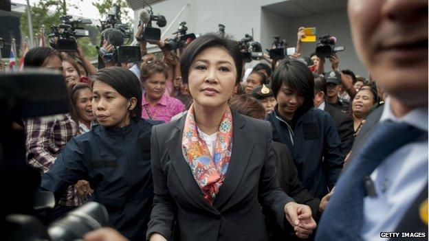 Prime Minister Yingluck Shinawatra (7 May 2014)