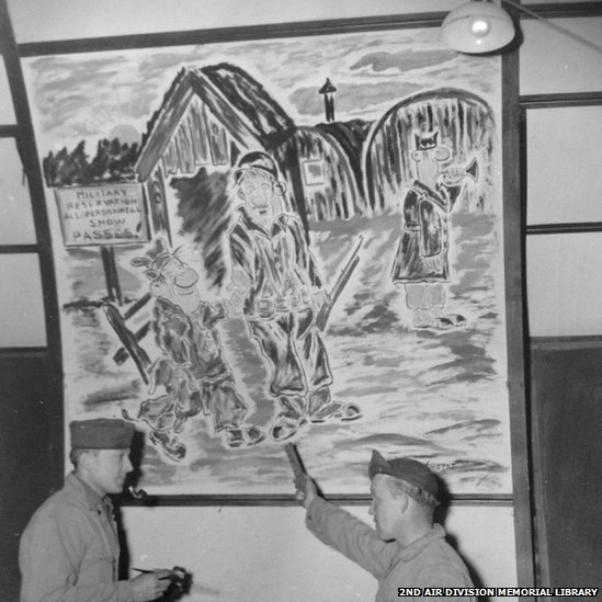 Archive Image of Wall painting at Shipdham