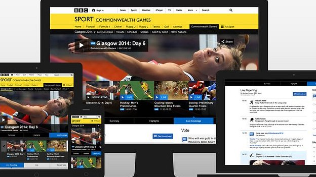 BBC Live Sport coverage