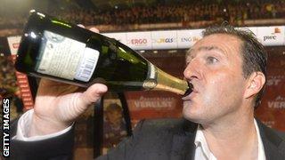 Belgium head coach Marc Wimots