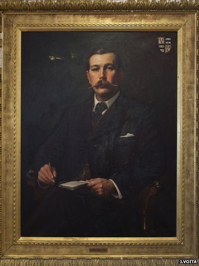 Sidney Paget portrait of Arthur Conan Doyle