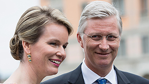 King Philippe and Queen Mathilde of Belgium