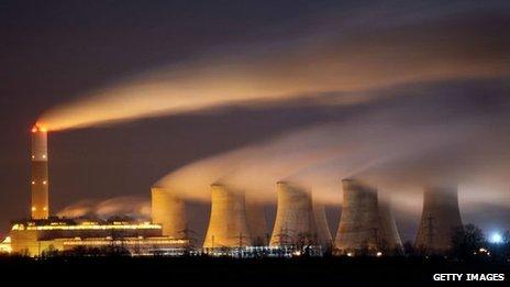Cottam power station in Retford