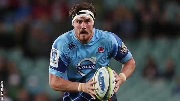 Australian lock Kane Douglas in action for the NSW Waratahs