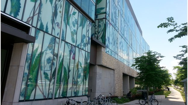 School of Pharmacy building, University of Waterloo, Canada