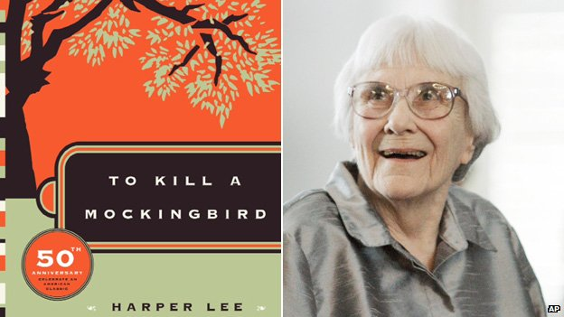 To Kill A Mockingbird cover and author Harper Lee