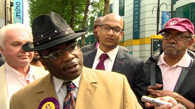 UKIP candidate Winston McKenzie