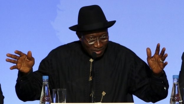 Nigeria President Goodluck Jonathan (May 2014)