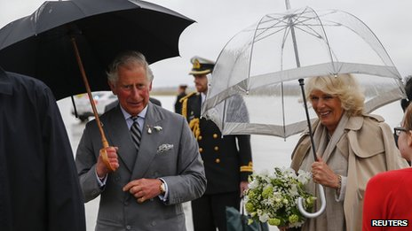Prince Charles on Canada visit
