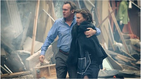 Philip Glenister and Liz White in From There To Here