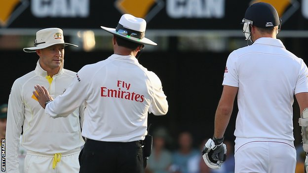 Michael Clarke and James Anderson