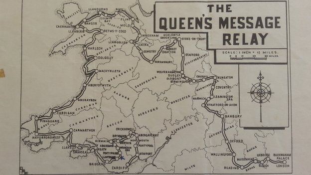 Relay route from 1958