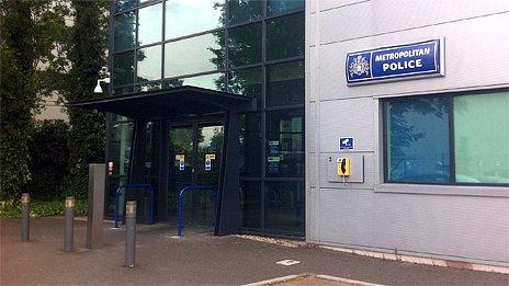 Metropolitan Police station at Heathrow