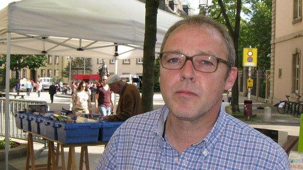 Bookseller Jean-Claude Henkes