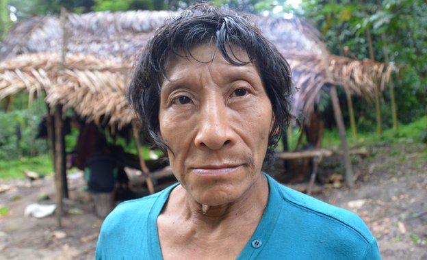 Awa tribesman