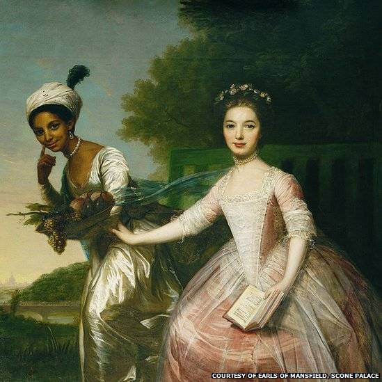 Portrait of Dido Elizabeth Belle & Lady Elizabeth Murray (formerly attributed to Johann Zoffany)