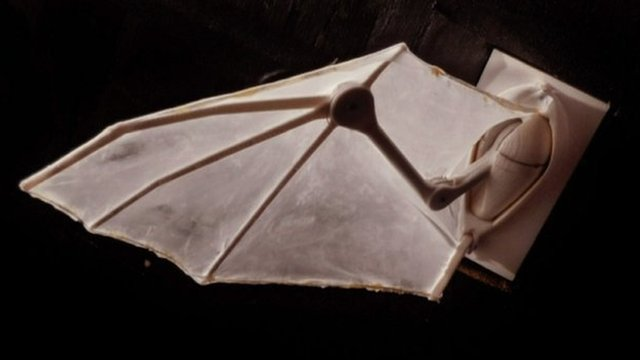 Robotic bat wing (c) Brown University