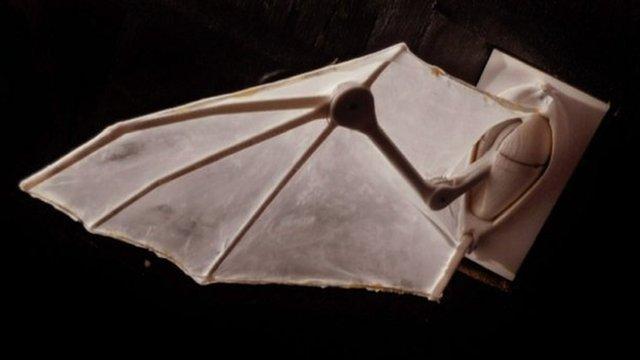 Robotic bat wing (c) Brown University