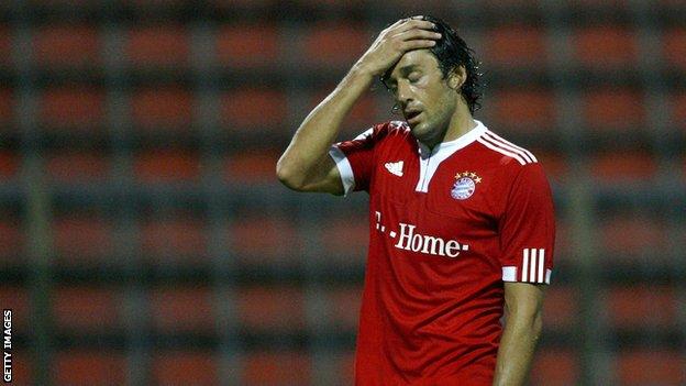 Ex-Bayern Munich striker Luca Toni