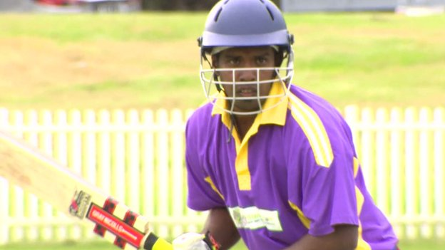 Ocean 12 cricket team comprised of Tamil asylum-seekers in Australia