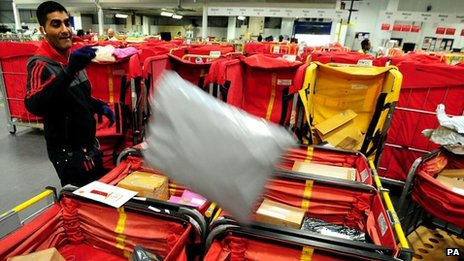 Royal Mail parcels