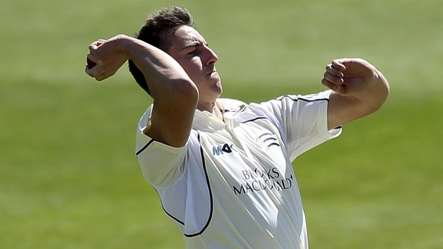 Middlesex bowler Toby Roland-Jones