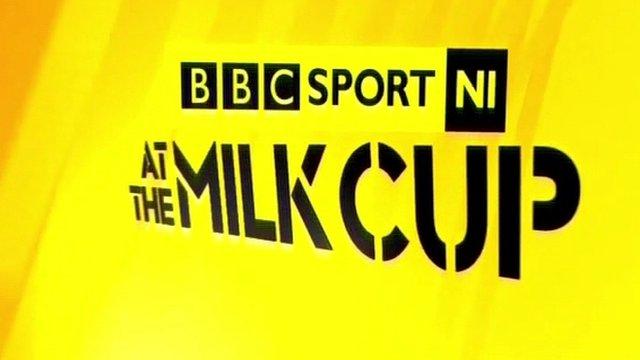 Milk cup logo
