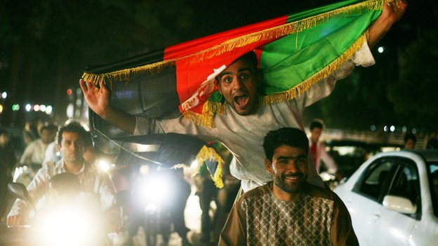 Fans went wild when Afghanistan won its first international football trophy last year beating India 2-0
