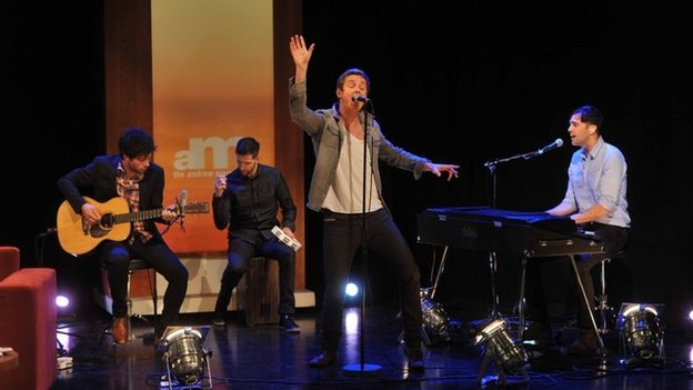Keane play on the Andrew Marr Show