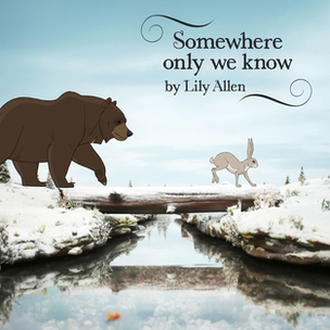 Single cover for Somewhere Only We Know