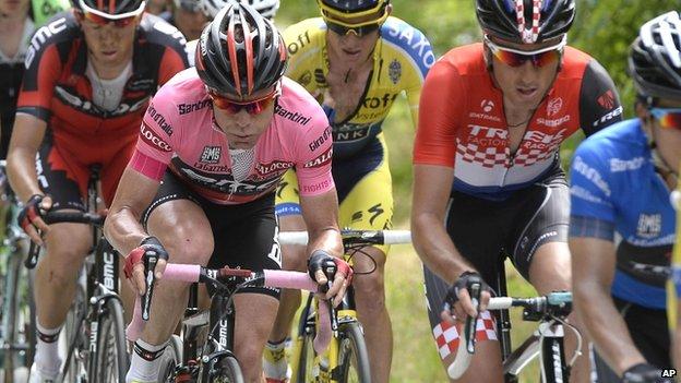 Giro d'Italia competitors