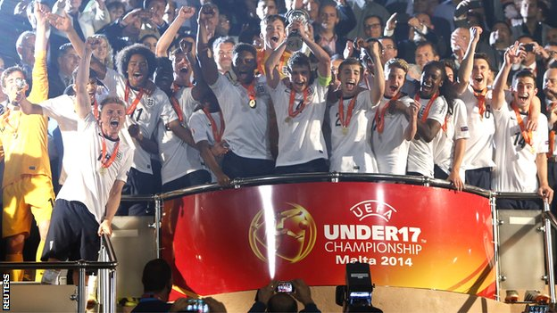 England defeated the Netherlands on penalties during their Uefa Under-17 Championship final