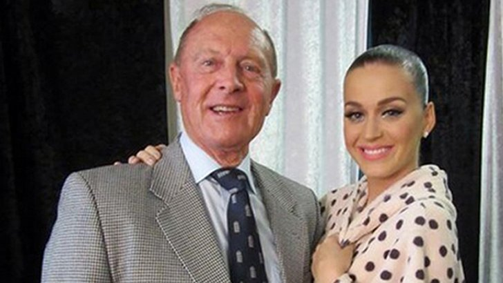 Geoffrey Boycott and Katy Perry