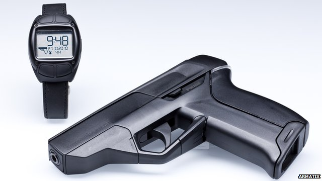 Smart gun Armatix iP1