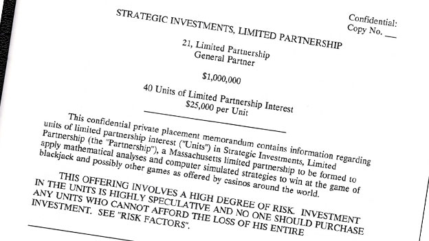Strategic Investments letter