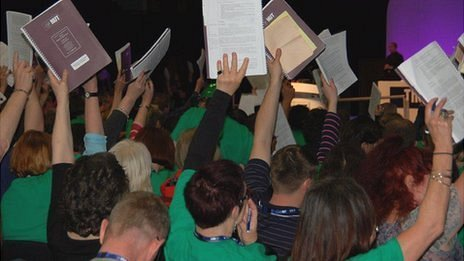 Voting at NUT