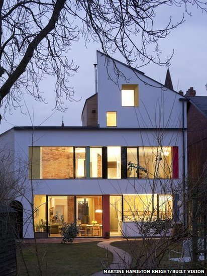 Zero Carbon House facade